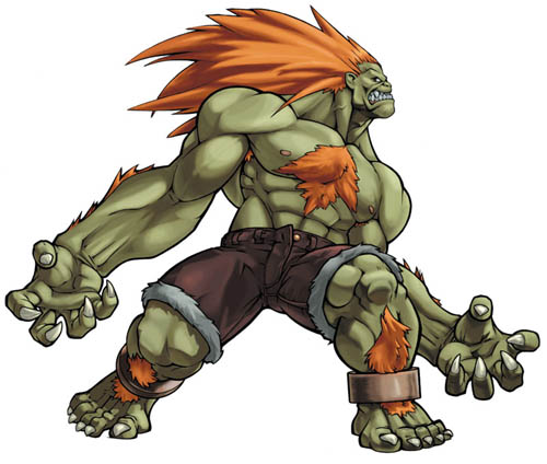 FIGHTER] Street Fighter, BLANKA, pricej14 — polycount