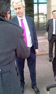 Geert Wilders in London