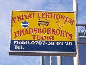 Malmö: Jihad driving school