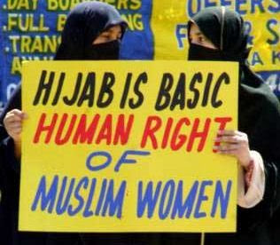 Hijab is a human right