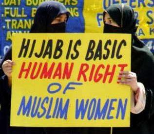 Hijab is a human right