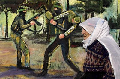 Hamas mural