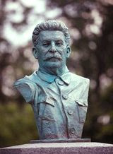 Stalin bust at the D-Day memorial