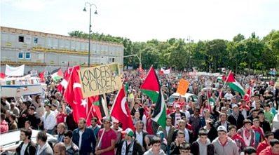 Vienna Muslim demo #1