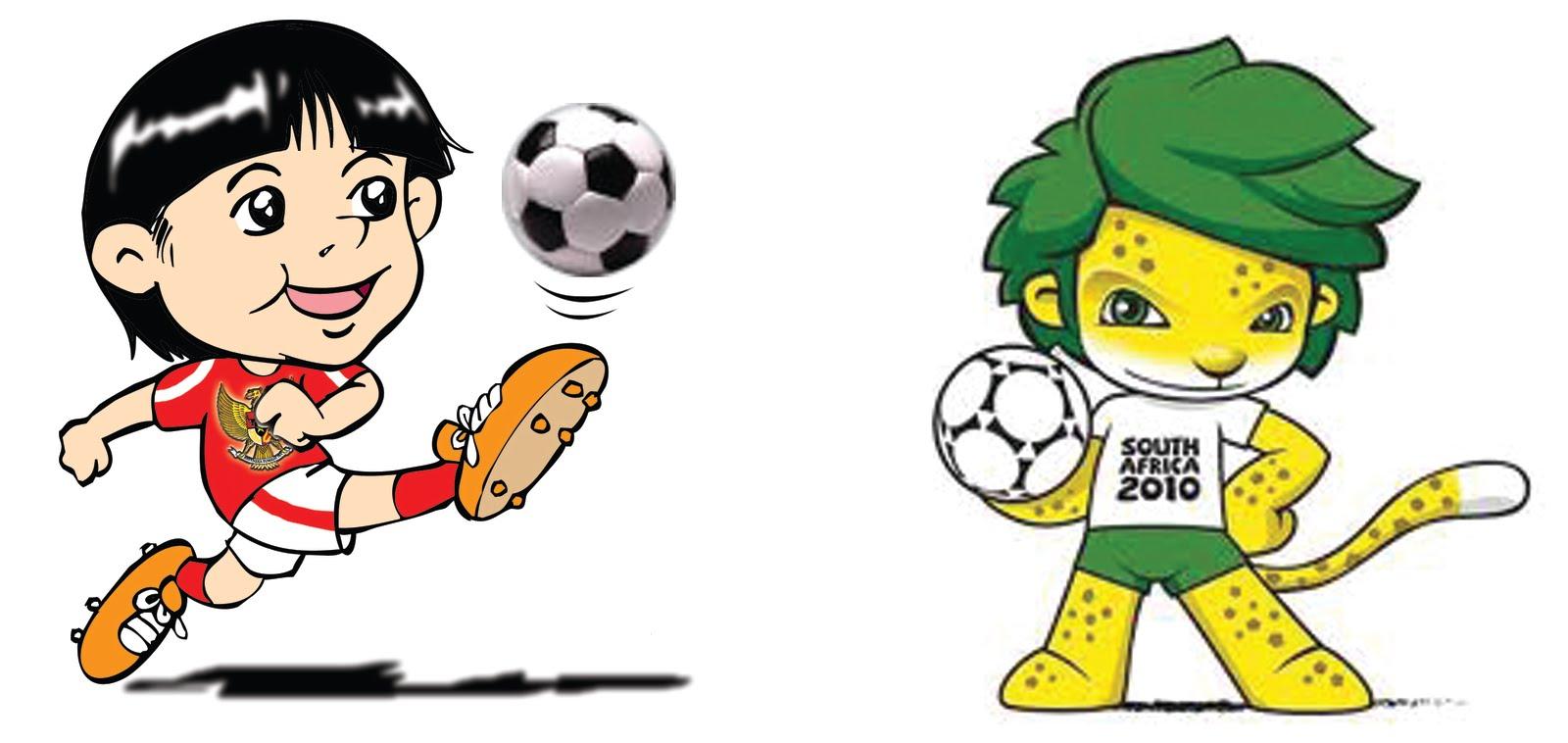 Foto Kartun Main Bola Gambar Gokil