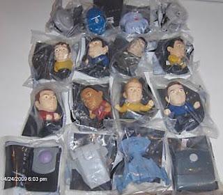 Star Trek Burger King Toys 97