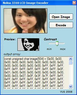 ProjectProto: N3310 LCD Image Encode
