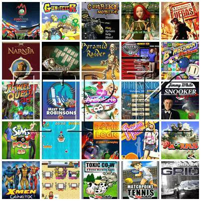 Mobile games and Softwares download: Java Games 240x320 Vol 9