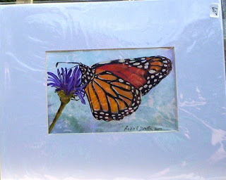 monarch butterfly painting