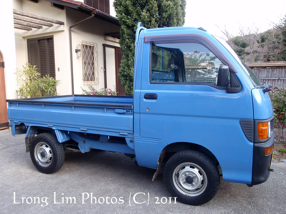 Kedahan-Malaysian @ Japan: New Toy: Daihatsu Mini Truck