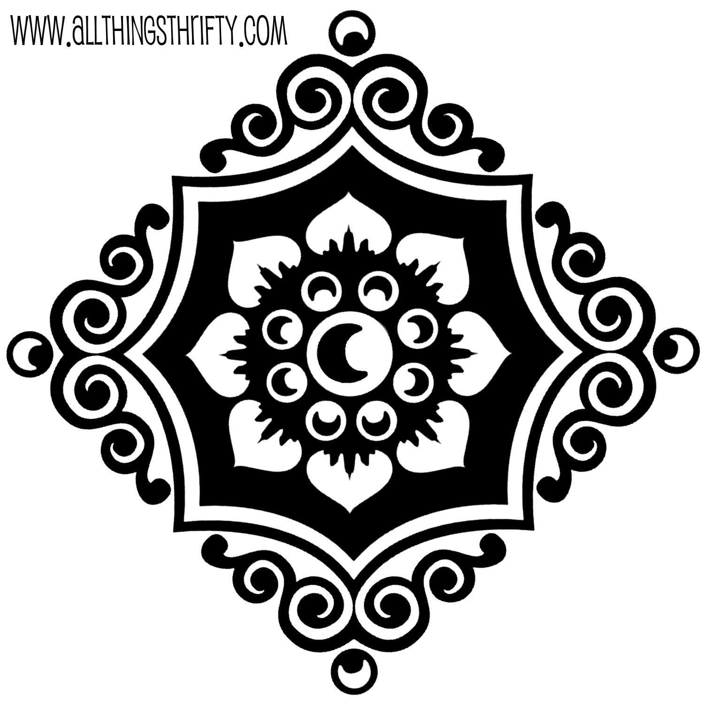 Free Stencil Designs For Walls Sevenstonesinc