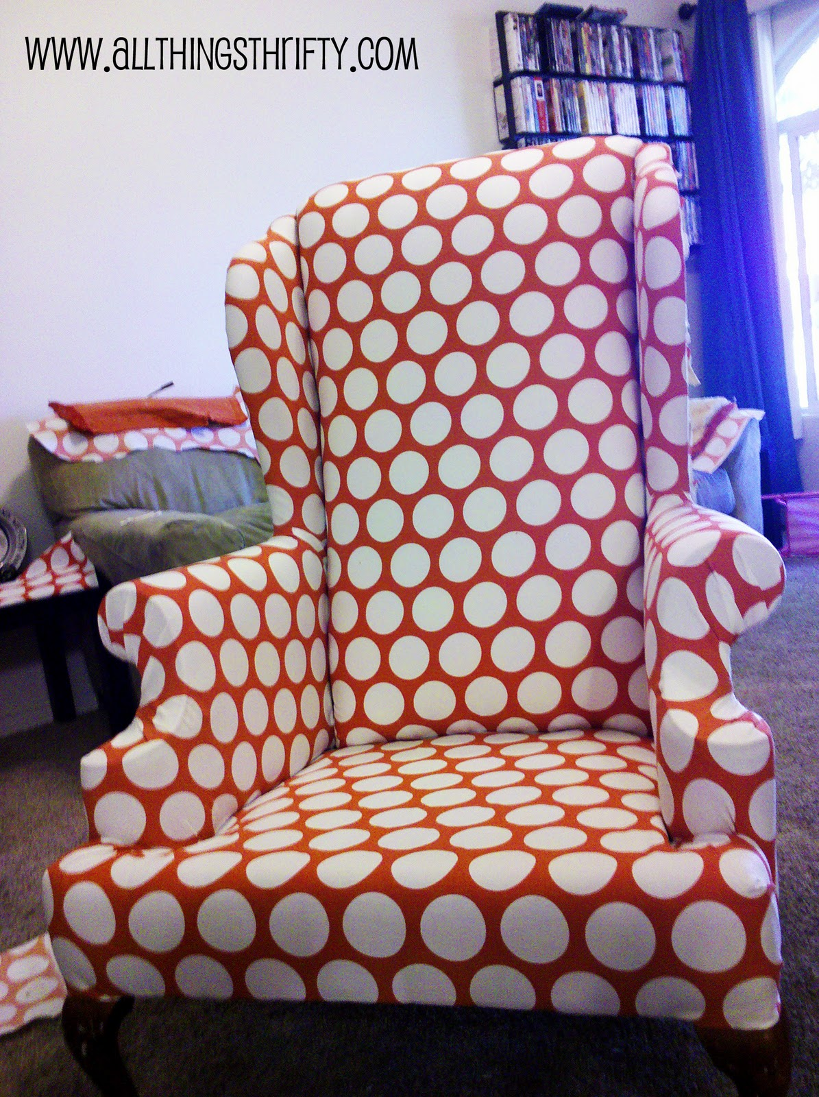 wingback chair upholstery ideas baby sleeper all things thriftys top 10 tips radica