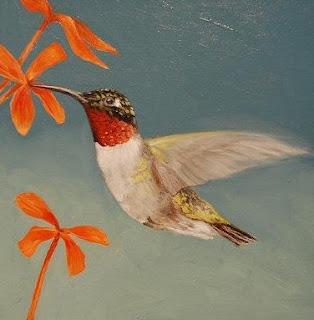Ruby throated+Hummingbird 10 Migrasi Hewan paling Unik di Dunia