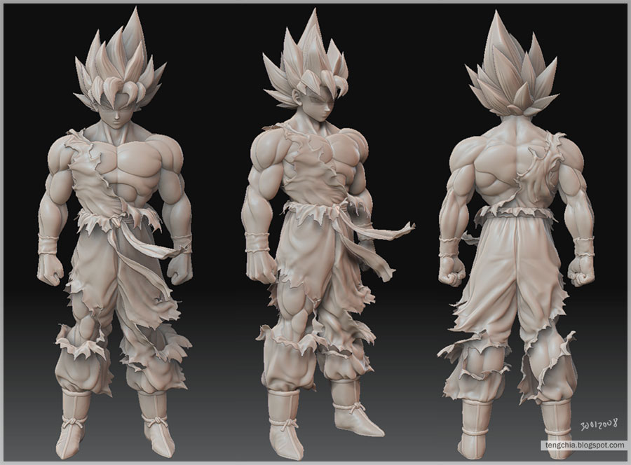 Character Design From The Ground Up Download : Que programa me recomiendan para personajes de dragonball