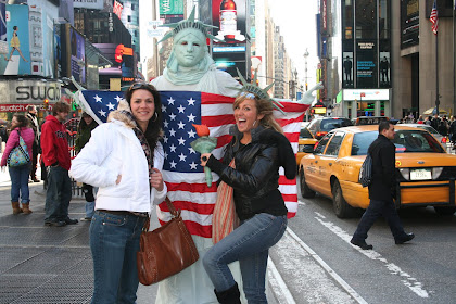 Me, Liberty, and my sis Jess in Time Square