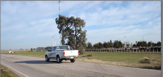 OBRA NUEVA - PRESUPUESTO, foto de una camioneta dirigiéndose a la Obra