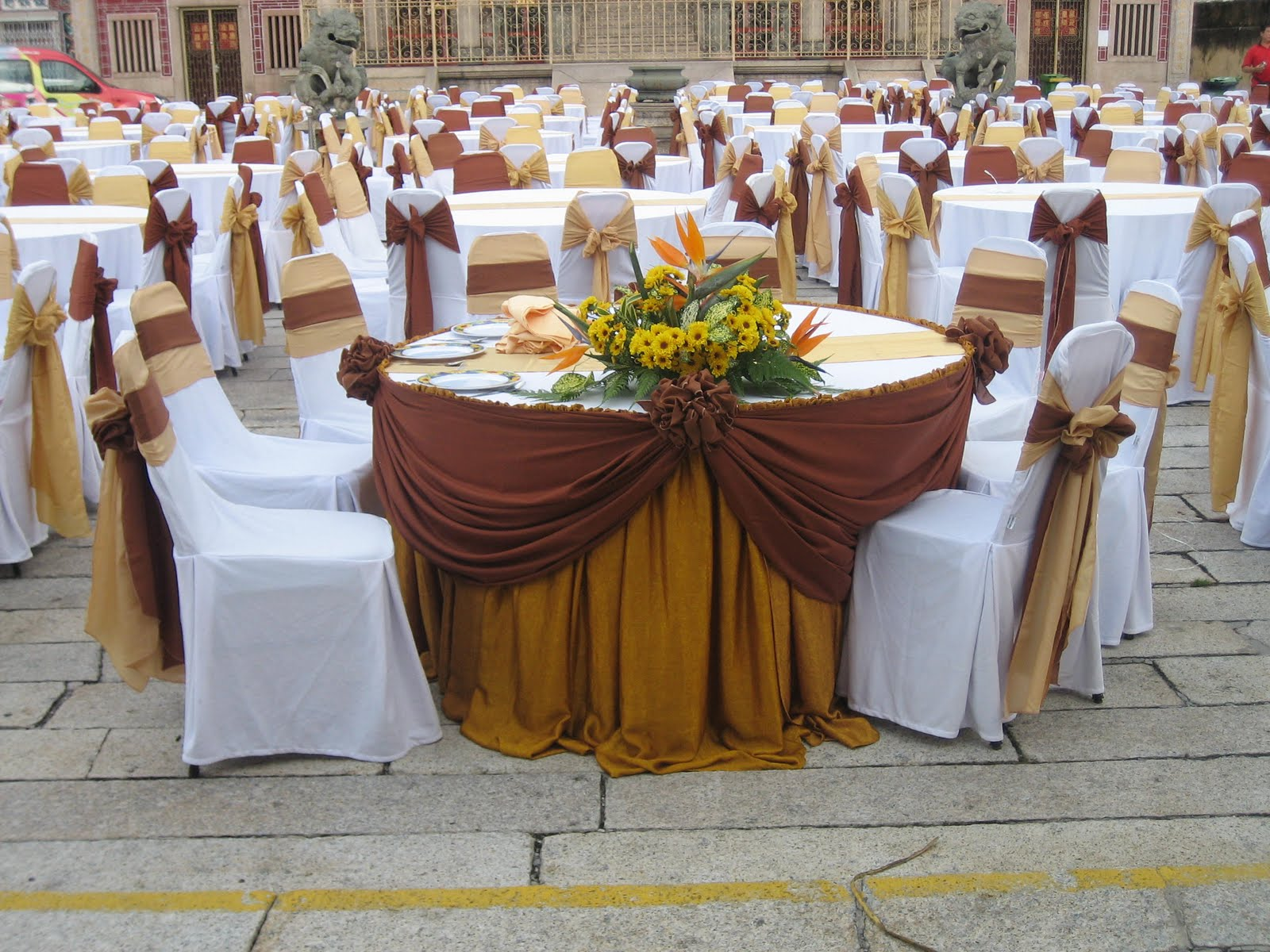 Banquet Chair Covers Malaysia French Country Dining Chairs With Arms Jinaco Enterprise Booth Specialist
