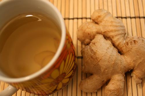 للشتاء. ginger-tea.jpg