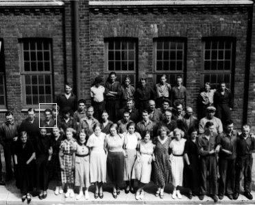 Stiftfabriken i Trollhättan på 1930-talet