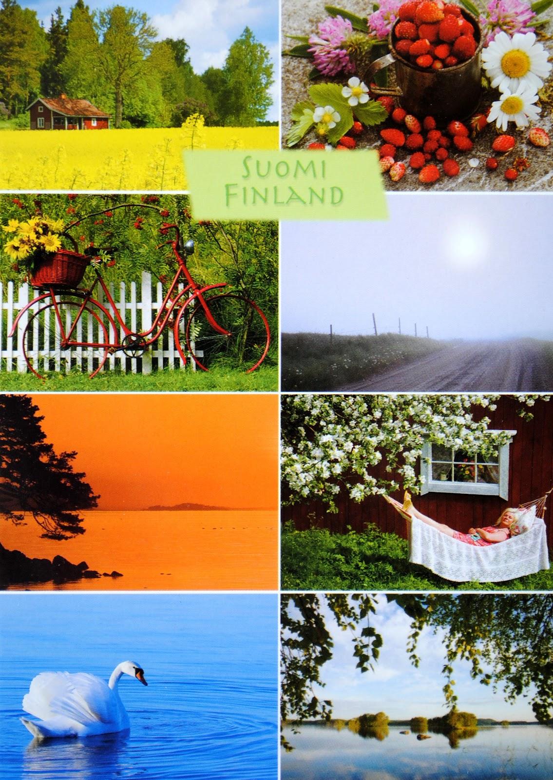 krajobrazy finlandii