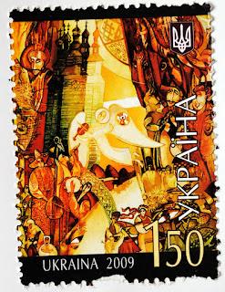 ukraiński znaczek