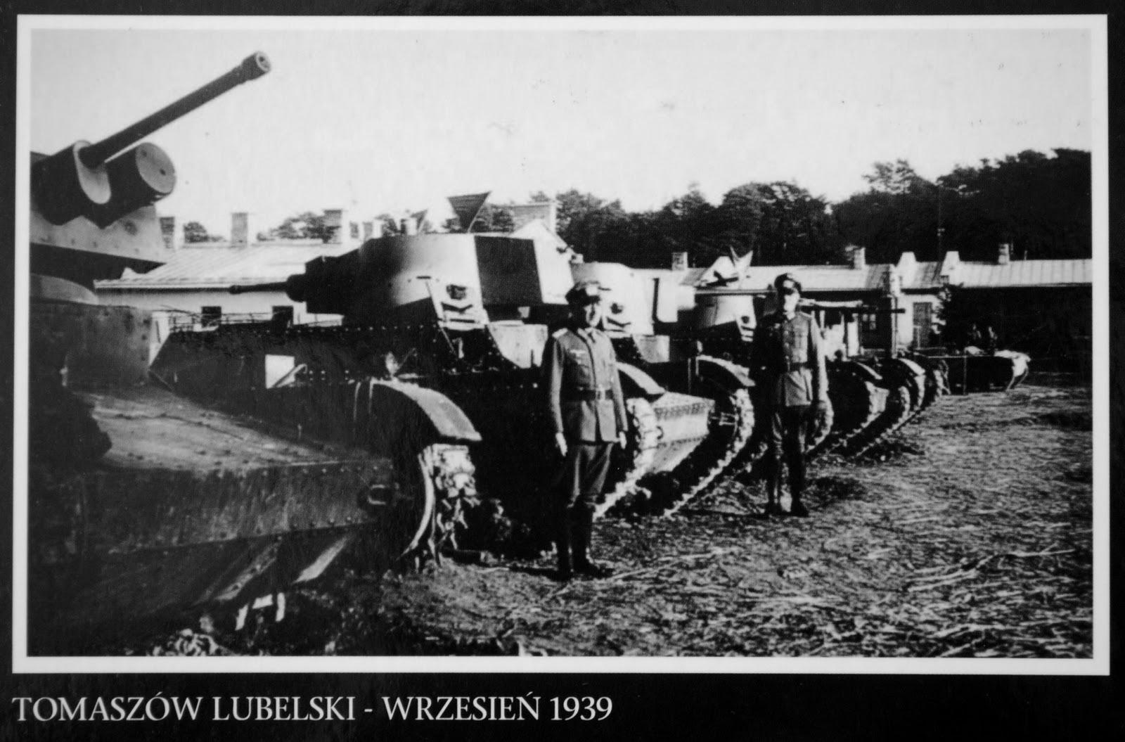 druga wojna światowa tomaszów lubelski