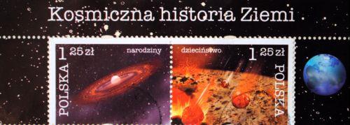 znaczki o kosmosie