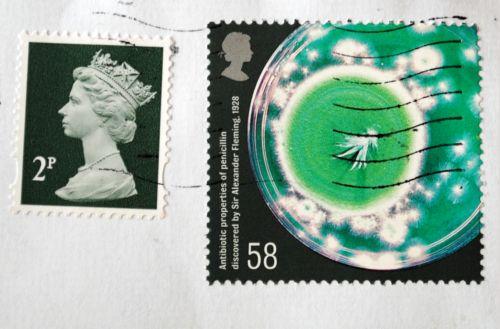 znaczki brytyjskie