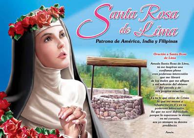 Resultado de imagen para santa rosa de lima