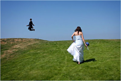 Wedding Day Jump