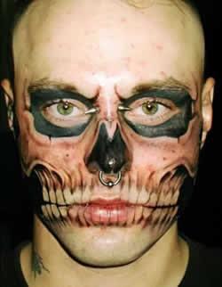 Aneka Gambar Tatto yang UNIK ANEH dan Lucu