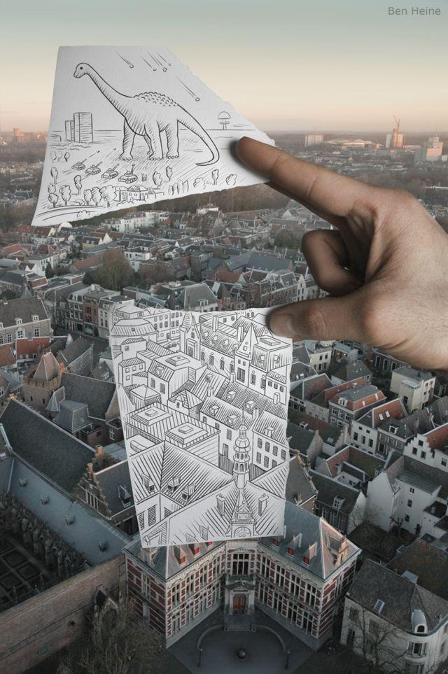 My Funny: Ben Heine's Pencil vs Camera | Pictures