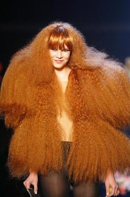İlginç saç modelleri