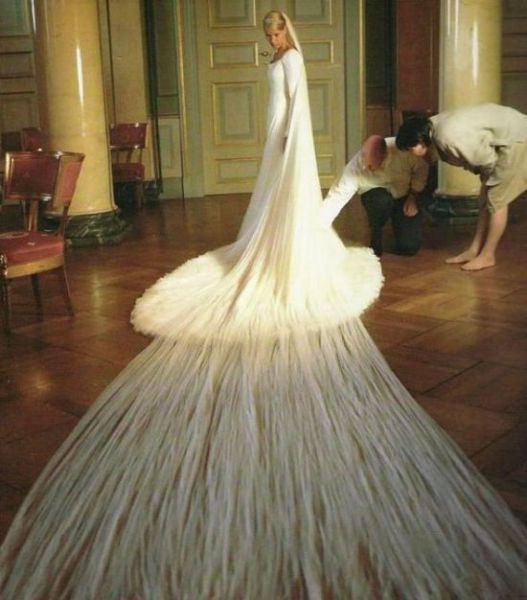 Facts Around Us: Unusual Wedding Dresses