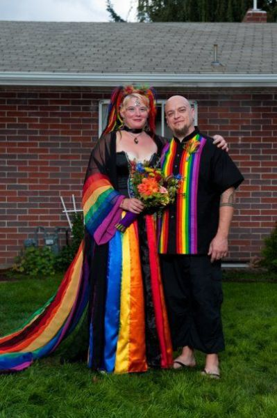 NonTraditional Weddings  Damn Cool Pictures