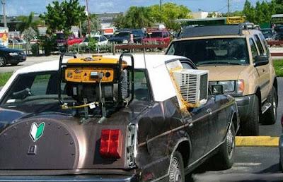 تكييف الهواء فى السيارة