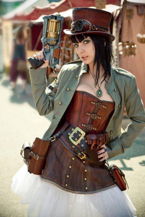 cosplay steampunk girls