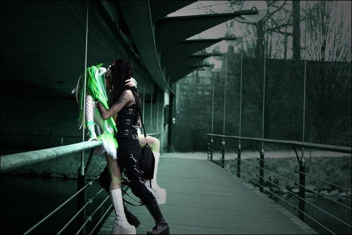 Black And White Gothic Wallpaper Cyber Goth Girls Damn Cool Pictures