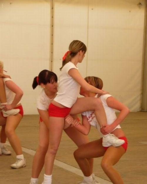 Fails uncensored cheerleader