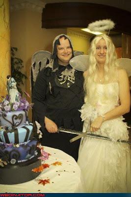 صور زفاف غريبة ومضحكة