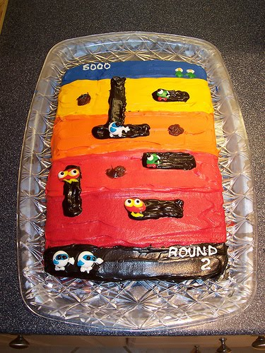 Video Game Cakes Damn Cool Pictures