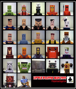 Little Plastic Man Paper Toys