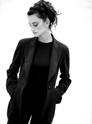 Penelope Cruz grey