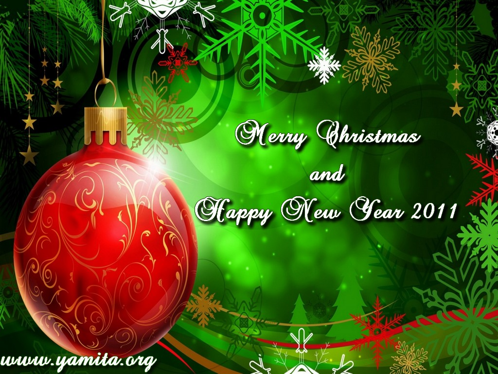 Merry Christmas And Happy New Year 2011. 1024 x 768.Happy New Year For Lovers Birthday Wishes Images
