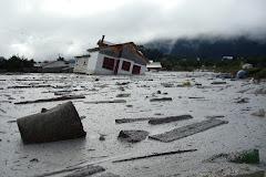 Inundación en Chaitén