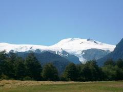Volcán Chaitén antes de la erupción