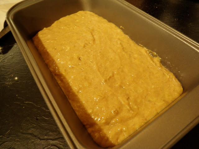 Banana Bread Batter - Scrumptiously Fit Food
