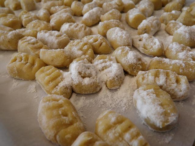 Uncooked Gnocchi