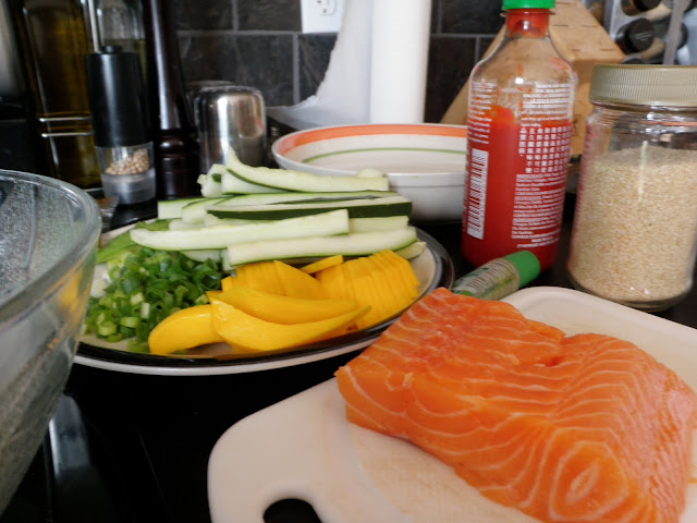 Sushi Ingredients - Scrumptiously Fit Food