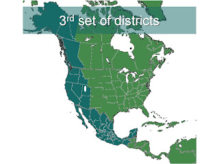 3rd set of districts